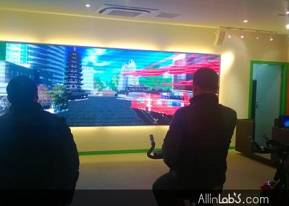 张家港青少年活动基地青苹果之家虚拟自行车